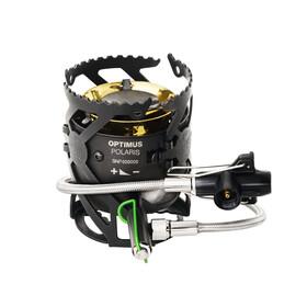 Optimus Polaris Optifuel Campingkoker met 0,4 liter brandstoffles grijs/zwart